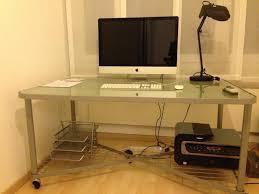 ikea glass top glass top desk ikea roselawnlutheran