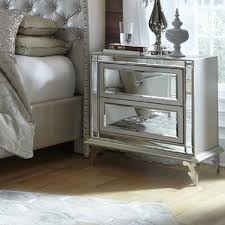 Lighted Nightstand Mirrored Nightstands You U0027ll Love Wayfair