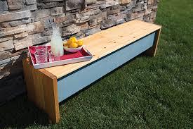 Outdoor Storage Bench Outdoor Storage Bench Buildsomething Com