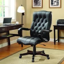 Osp Designs Osp Designs Bp Dxtx Ec3 Dixon Executive Leather Office Chair In