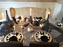 Spooky Halloween Decoration Ideas Spooky Halloween Tablescape Endlessly Inspired