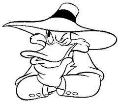 darkwing duck coloring pages aecost net aecost net