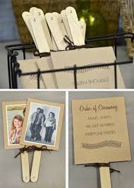 make your own wedding fan programs how to make wedding fan programs wedding tips and inspiration