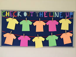 check out the line up in 4th grade english bulletin boards