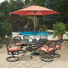 outdoor ls for patio aluminum outdoor dining table sets for cast patio biophilessurf info