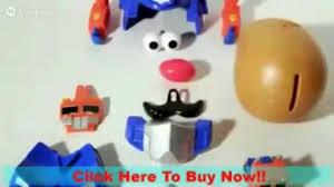 Potato Head Kit Disguise Toy Review Potato Head Optimash Prime Potato Head Potato
