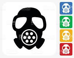 gas mask icon flat graphic design stock vector art 492081608 istock