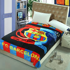 Sofa Bed For Kids Fc Barcelona Children Blanket Kids Blankets Baby Fleece Sleeping