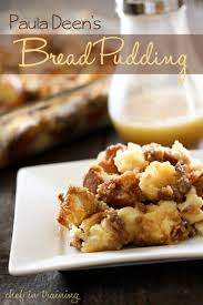paula deen u0027s bread pudding chef in training