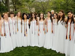 white graduation gowns 2014 catholic high school graduations thebostonpilot