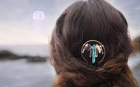 hair fork hair stick quartz hair fork boho hair pin hair