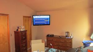 charming decoration how high to mount tv in bedroom ideal height