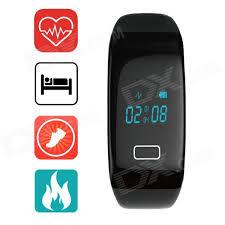 bracelet heart rate monitor images Aoluguya oled bluetooth smart bracelet w heart rate monitor jpg