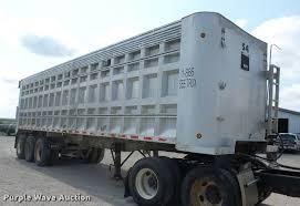 1999 usts end dump trailer item k6450 sold september 7