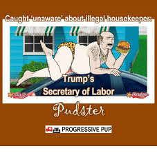 Housekeeper Meme - caught unaware about illegal housekeeper trump s secretary of