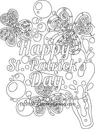 march free coloring pages u2013 st patrick u0027s day and irish blessings