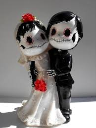 day of the dead cake toppers smart ideas day of the dead wedding cake topper and gorgeous 93