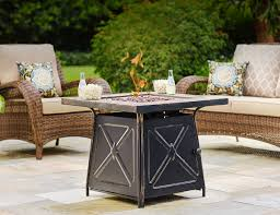 Wicker Patio Table Set Patio Furniture The Home Depot