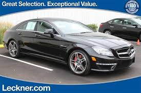 mercedes cls63 amg for sale 2012 mercedes cls 63 amg for sale in springfield cars com