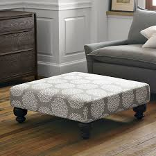 Ottoman Coffee Table With Storage Coffee Table Ottoman Tufted Fabric Regarding Elegant Fancy Tables