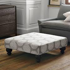 coffee table ottoman tufted fabric regarding elegant tables ideas