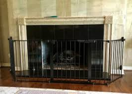 Baby Proof Fireplace Screen by Wide Baby Proofing Gates Austin Texas
