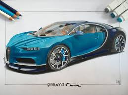 bugatti car drawing bugatti chiron toxic prime draw to drive