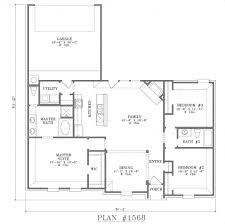 one level floor plans outstanding best open one story house plans home plans with open