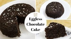 5 min chocolate cake in microwave oven eggless chocolate sponge