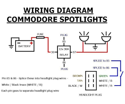 relay for fog lights wiring diagram
