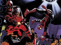 deadpool spiderman wallpaper wallpapersafari