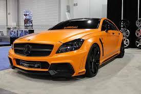 mercedes amg orange orange mercedes cls550 black bison by dbx8 benzinsider com a