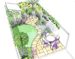 layout garden plan landscape design layout garden design long narrow garden garden