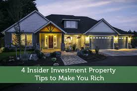 4 insider investment property tips to make you rich modest money