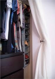 Closet Curtain Small Closet Big Solution Curtains As Closet Door Curtain