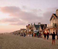 Does Newport Beach Have Fire Pits - america u0027s most crowded beaches travel leisure