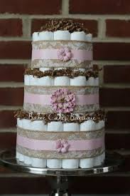 Shabby Chic Baby Shower Cakes by Shabby Chic Diaper Cake Burlap Diaper Cake Lace And Burlap Twin