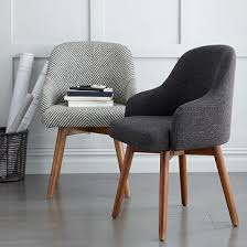 Office Chair Cushion Design Ideas Bentwood Office Chair Cushion West Elm Chairs Pinterest