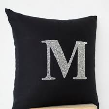 Shop Silver Beaded Pillow on Wanelo
