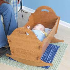 Free Cradle Furniture Plans by Childrens Cradles And Cribs At Woodworkersworkshop Com