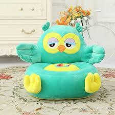 sofa chair for kids amazon com memorecool well designed kids sofa cartoon blue owl