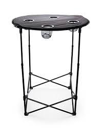 Adjustable Height Folding Table Amazon Com Camco 51955 Adjustable Height Folding Table Round