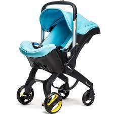 poussette siege auto bebe poussette transformable en siège auto doona turquoise le coin des