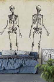 1000 images about vintage wall murals on pinterest retro skeleton wall mural wallpaper