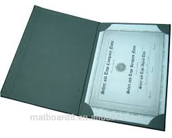 diploma cover excellent certificate holder leather diploma cover various colors
