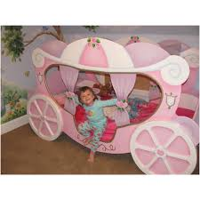 princess beds for girls cozy pink polished cinderella princess bed with wheel as inspiring