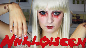 Creepy Doll Makeup For Halloween Halloween Horror Marionette Creepy Doll Youtube
