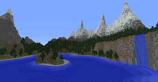 Realistic Map Of The World by More Realistic Mountains The Taiga Biome And Natural Waterfalls