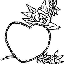 hearts roses mandala coloring color luna
