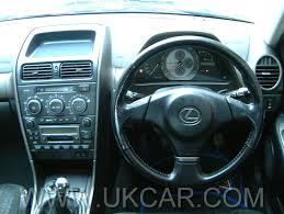 lexus is200 sport wheel size uk car road test